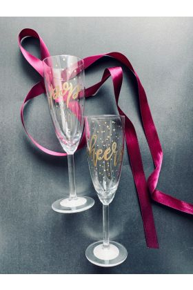 Set Pahare Prosecco Cheers & Pop